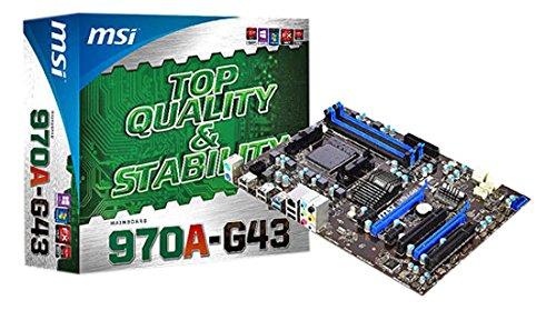 MSI 970A-G43 Scheda Madre, Nero