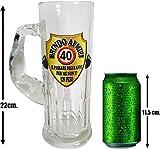 Boccale da birra per la festa di compleanno (40 anni)