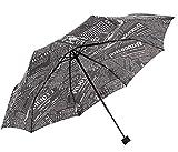 Kraptick Travel Newspaper Umbrella - 60 MPH Windproof Lightweight for Men Women