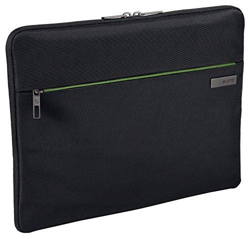 Leitz, Universale Schutzhülle für 15.6 Zoll Laptop, Ultrabook oder Mobilgeräte, Polyester, Complete, Schwarz, 62240095 (Laptops Und Ultrabooks)