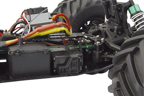 Akron Monstertruck 1:10 BL 4WD Lipo 2,4G- Allrad, Brushless, Akku, 60Kmh, Aluchassis, spritzwasserfest, Öldruckstoßdämpfer, Kugellager, Fahrwerk einstellbar, fahrfertig - 7