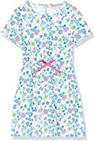 RED WAGON Girl's Floral Dress, Multicoloured (Multi), 4 Years