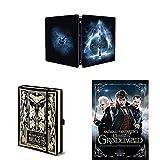 Locandina Animali Fantastici - I Crimini di Grindelwald: Steelbook Blu - Ray + Taccuino + Poster