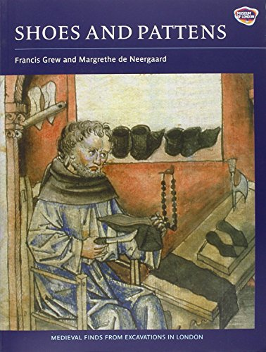 Shoes and Pattens (2): Finds from Medieval Excavations in London (Medieval Finds from Excavations in London S.) por Francis Grew