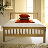 Heywood Solid Oak Bed Frame - Double