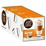 Nescafé Dolce Gusto Latte Macchiato Caramel, Lot de 3, 3 x 16 Capsules (24 Portions)...