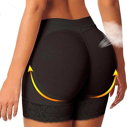 Miss Moly Women Butt Lifter Padded Panties Hip Enhancer Shapewear Control Panties Underwear Lace Boy Shorts