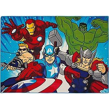 80x50x1 cm Star Licensing 40651 Tappeto Avengers Multicolore PVC-Poliestere