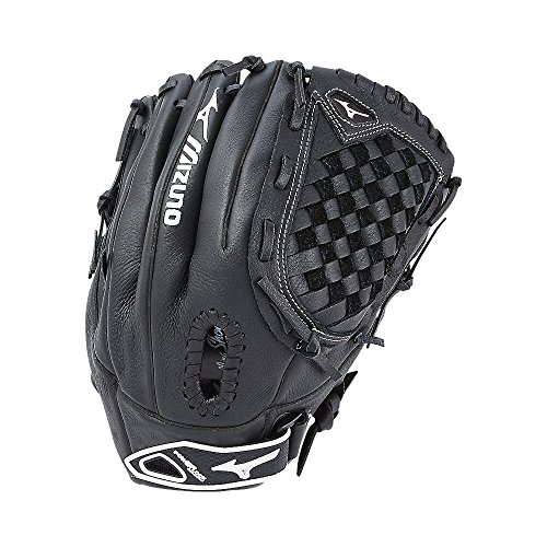 Mizuno Prospect Fastpitch Softball gpl1250F2Utility 312590Handschuhe, Größe 12,5, Schwarz -