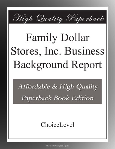family-dollar-stores-inc-business-background-report