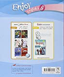 Image de Enjoy English in 6e Palier 1-1re année Niveau A1-A1+ du CECR : Workbook