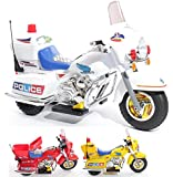 Charles Jacobs Ride on Kids Police Motorcycle Electric Scrambler Motorbike 6V Battery Operated Toy Bike