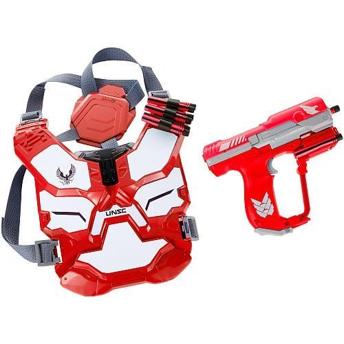(BoomCo HALO Spartan Assault Battle Armor Gear Set - RED by BOOMCO)