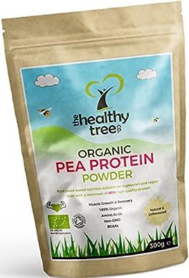 High Quality Organic 80% Pea Protein Powder - The Healthy Tree Company