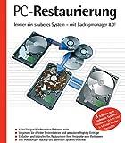 PC-Restaurierung, CD-ROM Immer ein sauberes System - mit Backupmanager 8.0! Für Windows 98/Me/2000/NT 4/XP