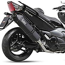 Escape Mivv Speed Edge Yamaha T-Max 500 08-11 acero inoxidable black
