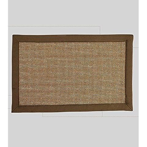 WWDP Americano - Natural Style ambientale sano Sisal Blended tappeto per studio, soggiorno, caffè, Tavolo Carpet durevole ( dimensioni : 1.5*2.0m )