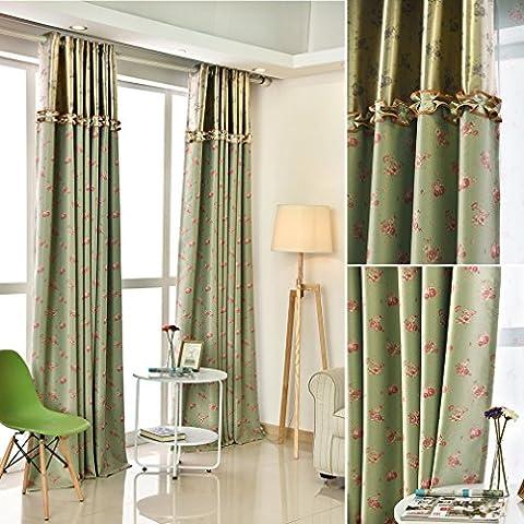 Kinlo® 2er Pack 145x245cm Blickdicht Vorhänge Blinkschutz Gardinen mit Ösen