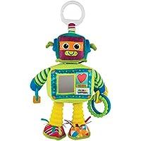 """Lamaze Baby Spielzeug """"Rusty der Roboter"""" Clip & Go - hochwertiges Kleinkindspielzeug - Greifling Anhänger zur Stärkung der Eltern-Kind-Beziehung - ab 0 Monate"""