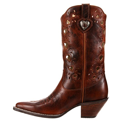 Durango Boots , Bottes et bottines cowboy femme Marron - Marron