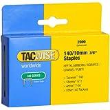 Tacwise 0347 Boîte de 2000 Agrafes galvanisées 10 mm Type 140