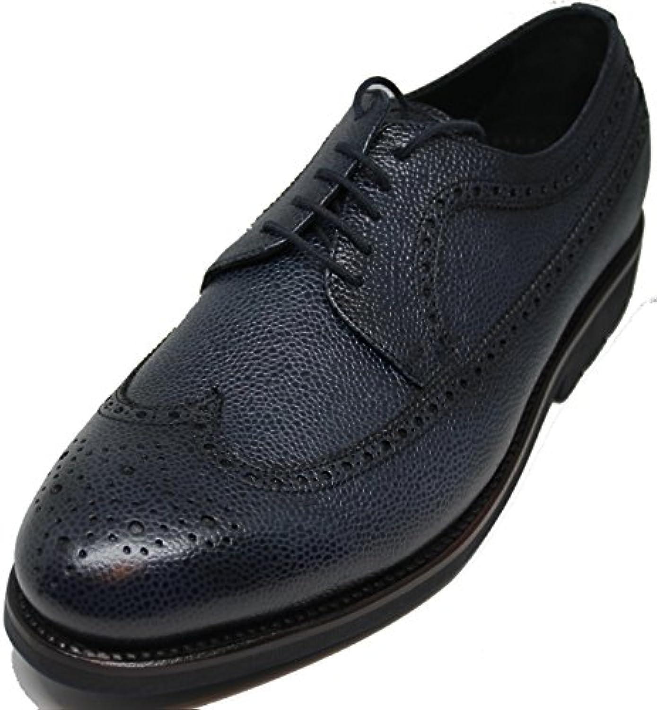 George´s Shoes 5047.Zapato de Cordones Pala Vega,Totalmente Hecho a Mano EN Inca Mallorca,Piel de Becerro Grabado... -