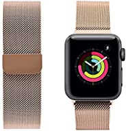 Porodo Mesh Band for Apple Watch 40mm / 38mm Compatible for Apple Watch Series 3,4 and 5