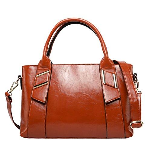 Donna Nuovo Stile PU borsa Da Viaggio Moda Borsa A Tracolla Inclinata Borsa A Tracolla Singola Borsa Brown