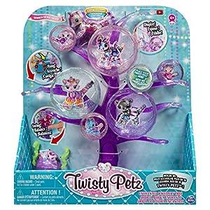 Spin Master Twisty Petz Jewelry Tree - Kits de Figuras de Juguete para niños (4 año(s), Multicolor, Niño/niña, China, 279,4 mm, 111,1 mm)