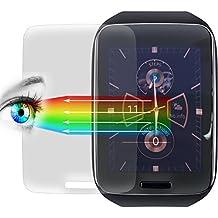 Proto Max Protector De Pantalla Para Samsung Galaxy Gear S, protector de pantalla accesorios Smart Watch/Wearable/Fitness Tracker, Screen Protector–Protector de pantalla para Samsung Galaxy Gear S (3unidades)