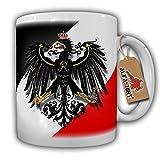 Militär Preußen Swr Schwarz Weiss Rot Adler- Tasse Becher Kaffee #6388