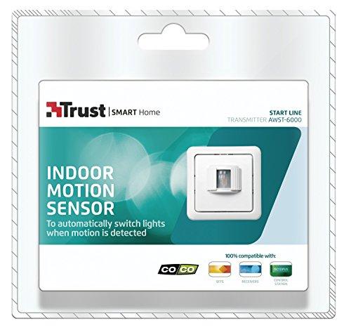 Trust Smart Home Funk-Bewegungssensor AWST-6000, weiß, 71013 - 3