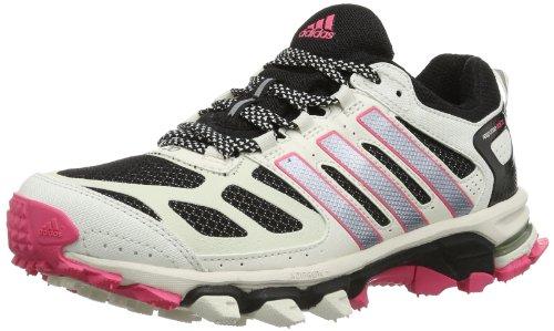 adidas Response Trail 20 W D66685 Damen Laufschuhe, Mehrfarbig (Black 1 / Tech Grey Met. S14 / Bahia Pink S14), EU 44 (UK 9.5) - Response Trail-running-schuh