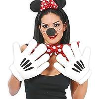 Mickey Mouse Minnie Mouse guantes gigante manos mano gigante de zapatos par guantes manos de personajes de cómic Jumbo partes de disfraces de carnaval de accesorios
