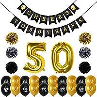 Amazon It 50 Anni Di Compleanno Palloncini Decorazioni Giochi