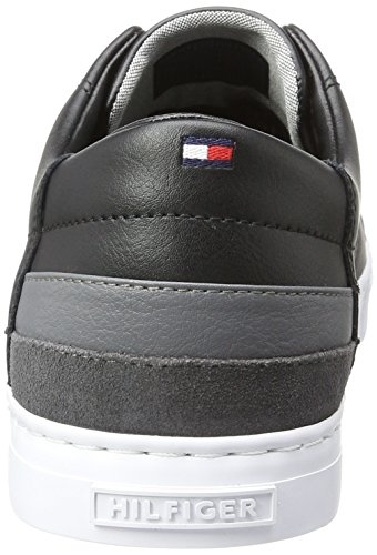 Tommy Hilfiger Herren J2285ay 7a1 Sneakers Schwarz (BLACK 990)