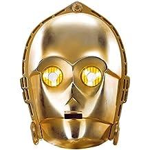 Máscara de cartón C3-PO - Star Wars
