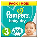 Pampers - Baby Dry - Couches  - Pack 1 mois