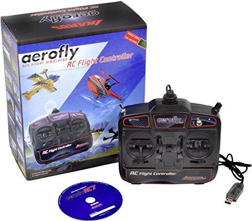 Ikarus Modellbau Flugsimulator aeroflyRC7 Standard inkl. Fernsteuerung