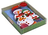 SNOWFAMILY TRI FOLD NOTECARDS