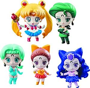 Megahouse Pretty Soldier Sailor Moon Petit Chara! Ayakashi vs. Sailor Moon Deluxe Set by Megahouse