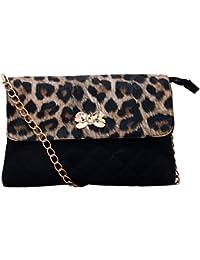 Lychee Bags Women's Zina Sling Bag (LB34TG, Multi-Coloured, PU)