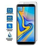 d939ee7b84e REY Protector de Pantalla para Samsung Galaxy J4 Plus 2018 - J6 Plus 2018 -  J4 Core, Cristal Vidrio Templado Premium