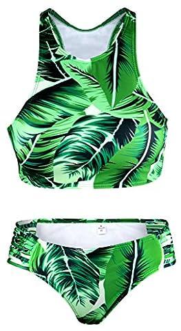 OCIA® maillots de bain Bikini Femme BK06# (EU 36-38=TAG SIZE M)