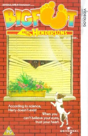 Bigfoot and The Hendersons [VHS] [1987]