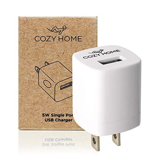 CozyHome Travel Plug Reise-Adapter - USB Reise-Stecker für die USA, China & weitere Länder   Mini US-Stecker Adapter Typ A (1x Reiseadapter)