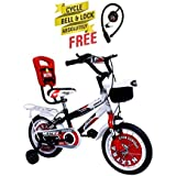 Speed Brid 14-T NEXTRA With Back Carrier Kid Bicycle Baby Cycle For Boys & Girls - Age Groupe 3-6 Years (RED)