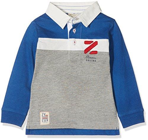 ZIPPY ZTB03_430_3 Polo, Bleu (Monaco Blue 19-3964 TCX), 74 cm Bébé garçon