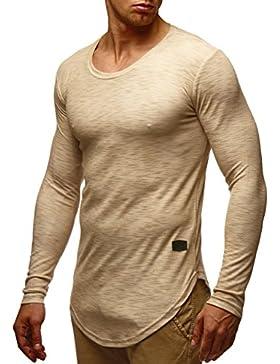 LEIF NELSON Herren Sweatshirt Hoodie Hoody LN6355