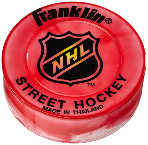 franklin-dischetto-da-streethockey-nhl-extreme-color-puck-blister-rosso-rot